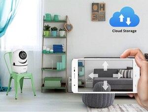Image 5 - Fuers cámara IP de seguridad para el hogar, 1080P, aplicación Tuya, seguimiento automático, CCTV, inalámbrica, WiFi, Monito para bebé