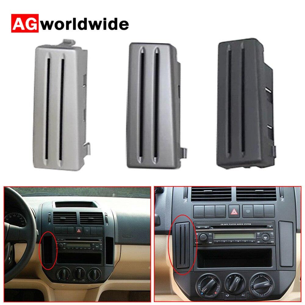 Для VW Polo 9N 2005 2006 2007 2008 2009 2010 для леворульных автомобилей черный держатель для карт Слот для карты слот для монет центральный ящик для хранени...