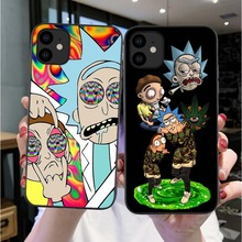 Rick And Morty Funny Cartoon Comic Meme Funny Words For iPhones 11 Pro Max X 6 6s 7 8 Plus XR Xs Max Soft Silicone Matte Case