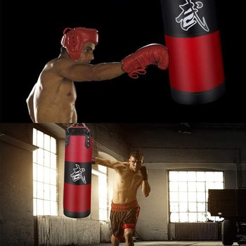 Hanging Sandbag Professional Hanging Sandbag, Punching Bag, Training Fitness With Hanging Kick Boxing Adults Gym Exercise Empty-Heavy Boxing Bag. <div> <div> <div></div> </div> </div> <div> <div>  </div> </div> - FitnessKim