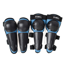 Doki Toy GHOST RACING Motorcycle Children's Rodilleras Moto Riding Motocross Cycling Elbow Knee Pads Protector Guard Armors Set