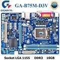 Материнская плата Socket LGA 1155 GIGABYTE  материнская плата для настольного ПК с процессором B75  сокетом LGA 1155  i3  i5  i7  DDR3 16 ГБ  Micro ATX  материнская плата ...