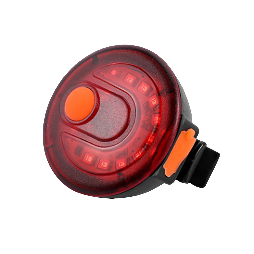 Waterproof USB Bicycle Bike LED Rear Light Taillight Warning Lamp Safety Cycling