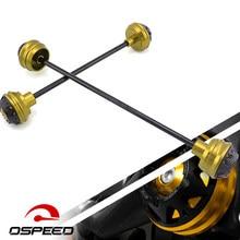 For BMW S1000RR S1000R HP4 S1000 R RR XR 2017-2010 Motorcycle Front and Rear Wheel Axle Fork Wheel Protector Crash Slider