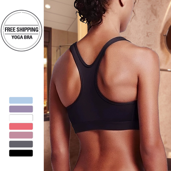 Sports Bra Running Yoga Gym High Stretch Breathable Top Fitness Women Padded  Seamless Crop Athletic Dry Quick Push Up Bras lasperal gym fitness women yoga bras girl seamless padded top push up vest wirefree shockproof sexy lace crop top soutien gorge