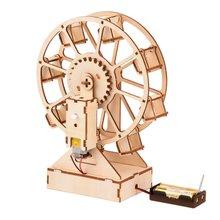 Деревянная музыкальная шкатулка «колесо обозрения» «сделай сам»