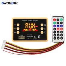 5V 12V Car Wireless Bluetooth 5.0 MP3 Decoder Board Module MP3 Audio Player WMA WAV/FM Radio Decoding Board with Remote Control