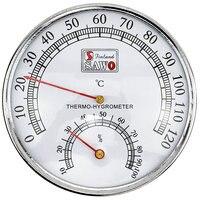 Термометр для сауны, чехол из нержавеющей стали, термометр для паровой сауны, гигрометр для сауны
