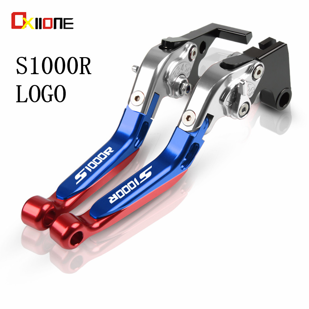 Motorcycle Accessories Adjustable Folding extended lever Motobike Brake Clutch Levers For <font><b>BMW</b></font> <font><b>S1000R</b></font> S 1000 R 2014-2019 <font><b>2018</b></font> image