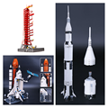 DHL 37003 16014 J79002 Apollo saturn V Launch Umbilical Tower Space Shuttle Expedition Toys Model Building Blocks 21309 10231