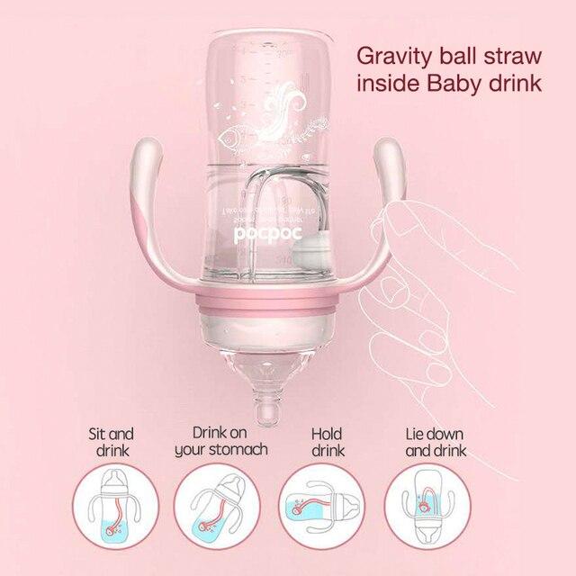 Baby Bottle w/ Detachable Gravity Ball  1