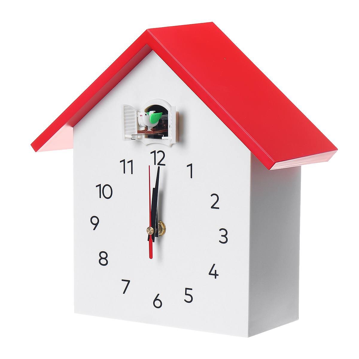 Coucou Quartz horloge murale oiseau suspendu montre décoration moderne réveils maison salon mode maison Timing Horologe