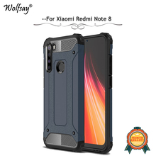 For Xiaomi Redmi Note 8 Case Shockproof Armor Rubber Hard Phone Back Cover