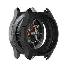 Getriebe S3 Frontier Fall Für Samsung Galaxy Uhr 46mm band getriebe S3 Silikon Schützen Abdeckung schutzhülle Uhr Zubehör