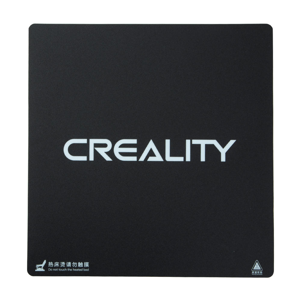 Creality 310X320/410*410/510X510X1mm Frosted HeatBed Hot Bed Platform Sticker 3M Backing For CR-10S Pro CR-10S4 S5 3D Printer
