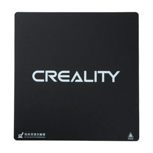 Image 1 - Creality 310X320/410*410/510X510X1mm Frosted HeatBed Hot Bed Platform Sticker For CR 10S pro CR 10S4 S5 3D Printer