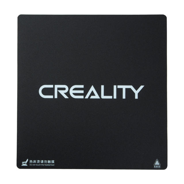 Creality 310X320/410*410/510X510X1mm Frosted HeatBed Hot Bed Platform Sticker For CR 10S pro CR 10S4 S5 3D Printer