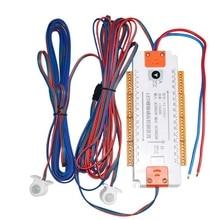 Stair LED Motion Sensor Light Strip 32 Channel Dimming Light Indoor Motion Night Light 12V/24V Flexible LED Strip Light