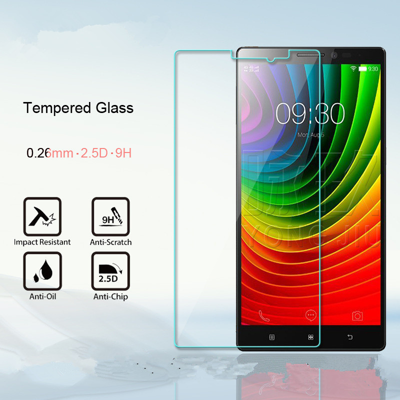 Premium 2.5D Tempered Glass Screen Protector For Lenovo Vibe Z2 Pro K920 /Z2 Protective Glass