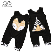 Baby Fox Rompers Baby Clothes B