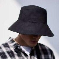 Sombreros de sol grandes para hombre, sombrero de pescador de doble cara, Color puro, sombrero de fieltro Panamá para exteriores, visera, lavabo, sombrero para playa
