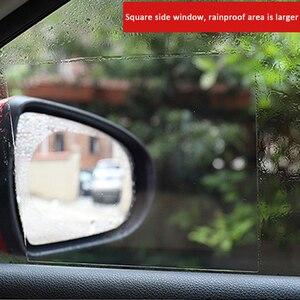 Image 2 - Samochodowa folia przeciwdeszczowa lusterko wsteczne folia ochronna przeciwmgielna membrana przeciwodblaskowa wodoodporny przeciwdeszczowy samochód lustro okno wyczyść bezpieczniej