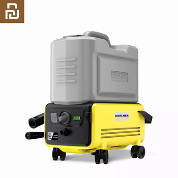 Youpin Karcher Car Washer Machine Wireless High Pressure Cleaner 60Bar Portable Washing Machine Electric Cleaning