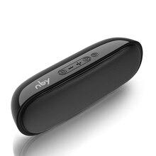 NBY 4070 Портативный Bluetooth Динамик 10 Вт Беспроводной Динамик s с сабвуфером Поддержка TF USB FM радио для портативного компьютера
