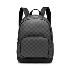 Men Backpacks New Fashion Laptop Backpack Large Capacity Stylish Pu Leather Stundet Back pack Water Repellent Rucksack