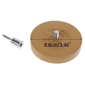 """Image 5 - Goma de borrar almohadilla de rueda con adaptador de taladro rueda de pulido de 88mm removedor de calcomanías de 1/4 """"para calcomanías de coche pegatinas de vinilo QuickRemovalToo"""