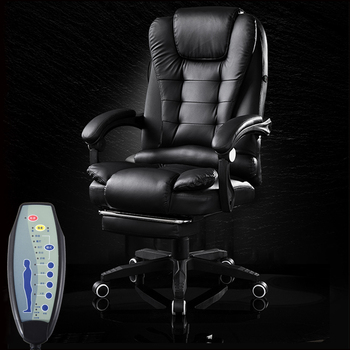Home Office Computer Desk Massage Chair With Footrest Reclining Executive Ergonomic Vibrating Pu Leather Adjustable Office Chair Buy At The Price Of 92 70 In Aliexpress Com Imall Com