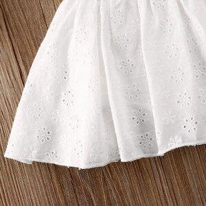 Pudcoco платье принцессы для новорожденных девочек, кружевное лоскутное платье с вырезом, комбинезон, комплекты одежды