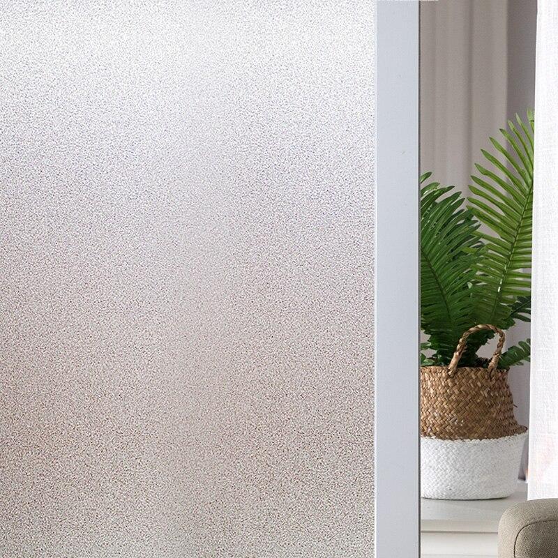 1 м/2 м оконная пленка матовая непрозрачная стеклянная пленка защита конфиденциальности стеклянная наклейка для гостиной спальни домашний ...