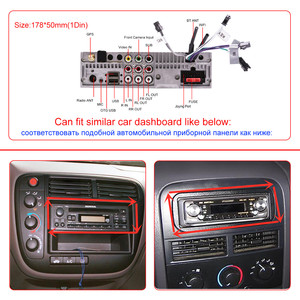 Image 5 - Joying Android 8,1 Авторадио автомобиля 1 один DIN 7 головное устройство HD мультимедиа для стерео Радио автомобильной Bluetooth FM wifi Зеркало Ссылка