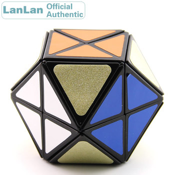 LanLan 12 Axis Tetradecahedral Magic Cube Helicopter Speed Puzzle Antistress Brain Teasers Educational Toys For Children yongjun diamond symbol 3x3x3 magic cube yj 3x3 professional neo speed puzzle antistress fidget educational toys for children