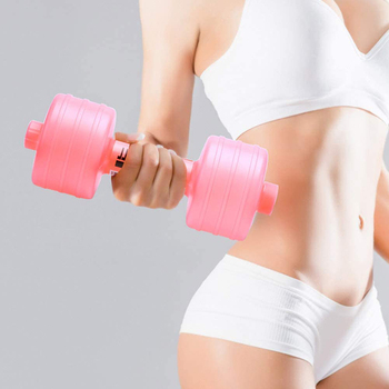 Wate Dumbbell Bodybuilding Dumbbells Plastic Big Large Capacity Gym Sports Water Dumbbell Unisex Bottle Fitness  Accessories