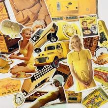 Autocollants Vintage vie européenne et américaine, 10 sortes, scrapbooking, décoratifs, pour téléphone, album, journal intime, happy plandécorative, DIY bricolage