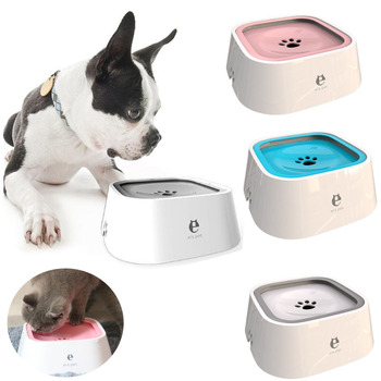 No Spill Dog Water Bowl Water Fountain Drinking Bowl Pet Drinking Fountain Dispenser Puppy Drinking Bowl Not Wetting Mouth Bowl фото