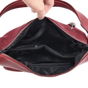 Image 5 - Luxe Handtassen Vrouwen Tassen Designer Beroemde Merk Faux Suede Schouder Crossbody Tassen Dames Casual Grote Zwervers Zakken Vrouwelijke