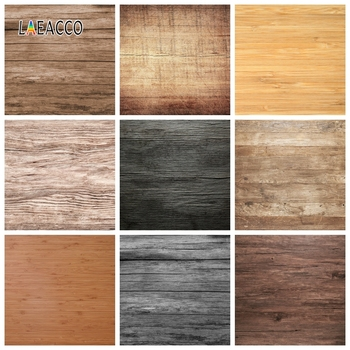 Laeacco Wooden Board Photophone Photocall Grain Texture Grunge Photography Backdrops Photo Backgrounds Photozone for Food Props