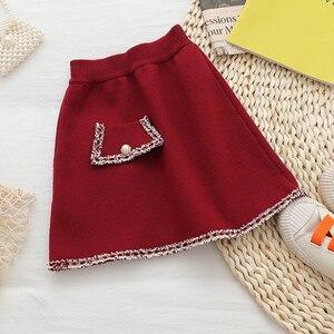 Image 5 - Babyinstar Kinder Kleidung Sets Für Mädchen Outfits 2020 Winter Mädchen Pullover Kinder Strickjacke + Rock Anzug Set Kinder Kleidung Set