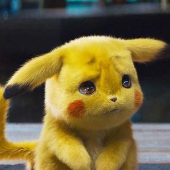 Original Detective Pikachu Plush Toy High Quality Cute Anime Toys Children Birthday Gift Kids Cartoon Peluche Doll