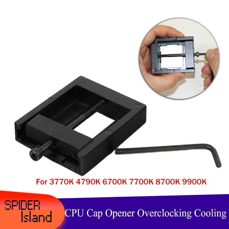 CPU Cap Opener Tool For 3770K 4770k 4790K 6700K E3-1230 E3-1231 7700K 8700K 115x Interface Kit CPU IHS Heatsink  Removal Delid