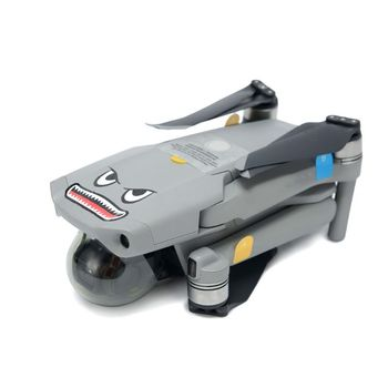 Mavic Mini Mavic Air Body naklejka samolot Shark naklejki samoprzylepne skóra Mavic Pro Mavic 2 Mavic Air 2 akcesoria tanie i dobre opinie BEYONDSKY CN (pochodzenie) Wall Sticker