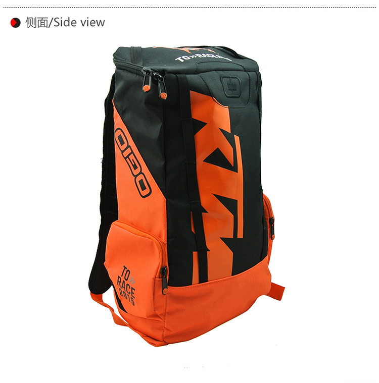 KTM Shoulder Riding Backpack Motorcycle Bag Motorcycle Backpack New Style Scrambling Motorcycle Outdoor Bag
