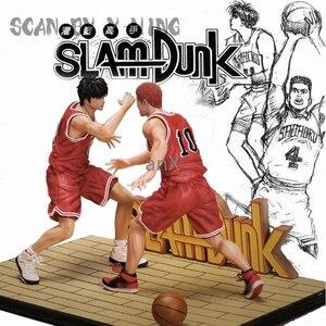 30 см аниме SLAM DUNK фигурки Hanamichi Sakuragi VS Rukawa Kaede Фигурки ПВХ Коллекционная модель игрушки