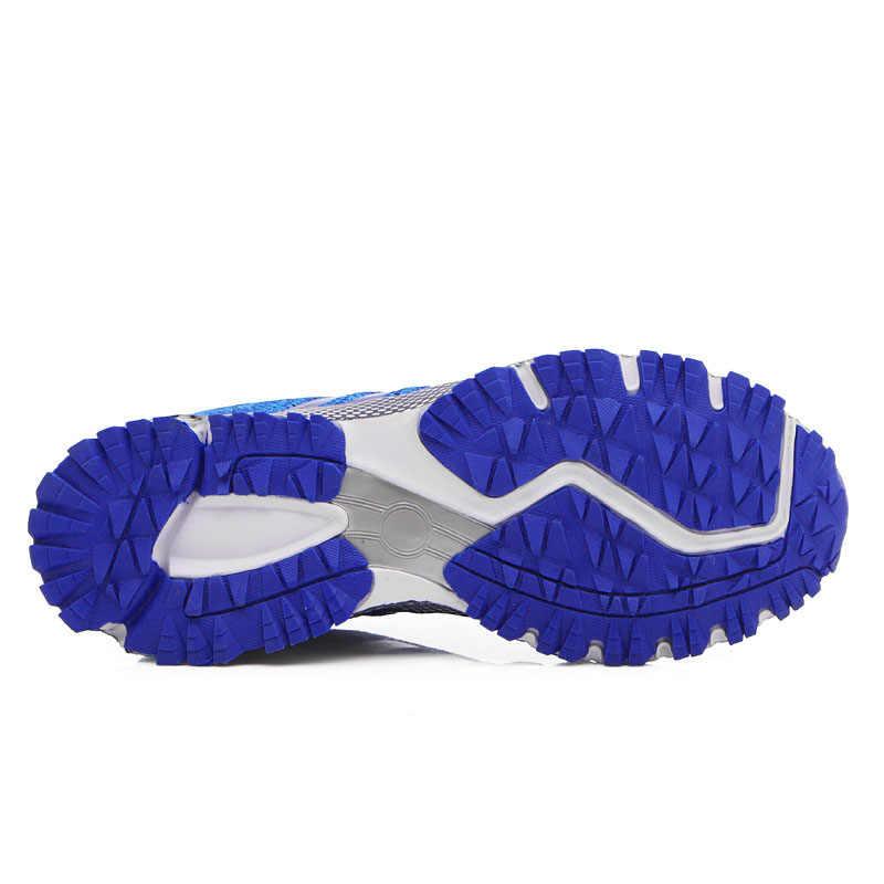 男性ランニングシューズ通気性アウトドア Zapatillas ジョギングスニーカー女性トレーニングアスレチックメッシュ迷彩男性スポーツウォーキングシューズ