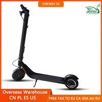 2021 más caliente CHICWAY S2 MINI Scooter eléctrica portátil de 2 ruedas E-scooter niño adulto transporte resistencia 25-50km velocidad 25 km/h