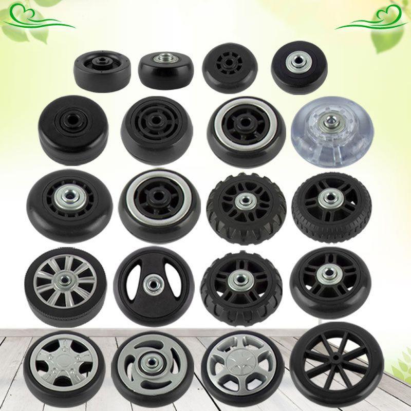 1Pcs Suitcase Wheels Luggage Suitcase Replacement Wheel Axles Diameter 41-80mm Deluxe Repair Deluxe Repair Tool Casters