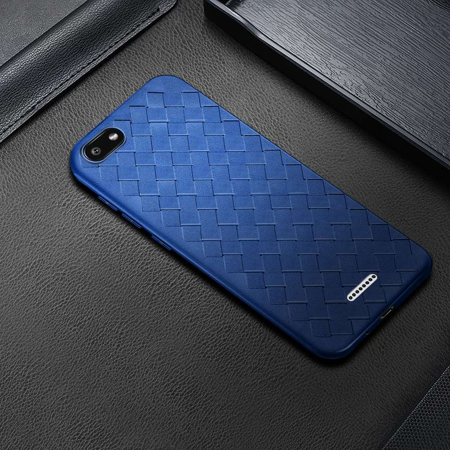 For <font><b>Xiaomi</b></font> <font><b>Redmi</b></font> <font><b>6A</b></font> <font><b>Case</b></font> <font><b>Cover</b></font> Soft Silicone Grid Weaving TPU Phone <font><b>Cover</b></font> For <font><b>Xiomi</b></font> <font><b>Redmi</b></font> <font><b>6A</b></font> <font><b>6</b></font> A A6 Back <font><b>Case</b></font> on <font><b>Redmi</b></font> <font><b>6A</b></font> Fundas image